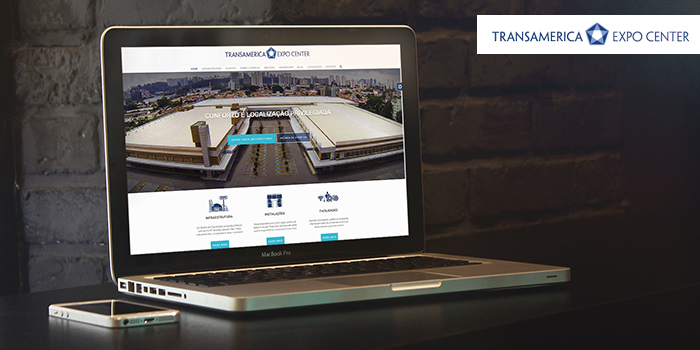 Transamerica Expo Center estreia novo site